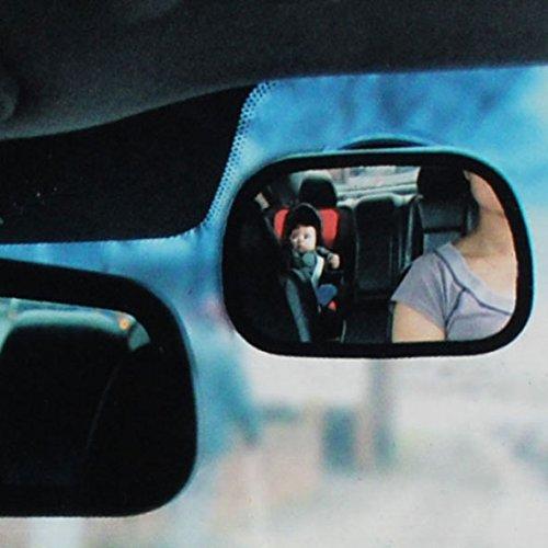 Retroviseur de Surveillance R/églable avec Ventouse et Clip pour Voiture OFKPO R/étroviseur pour Si/ège de S/écurit/é /à lInt/érieur de la Voiture B/éb/é Vue Arri/ère Miroir