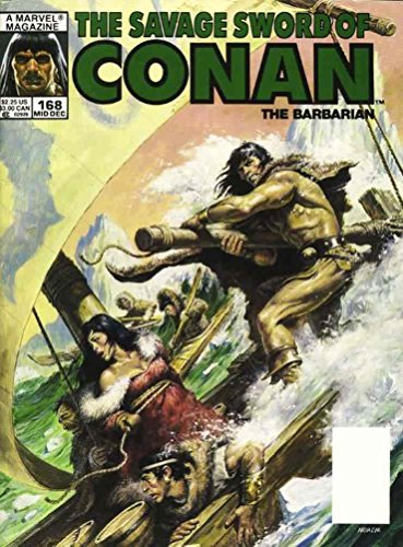 The Savage Sword of Conan #168
