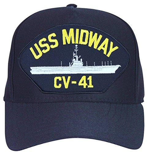 MilitaryBest USS Midway CV-41 Ships Ball Cap