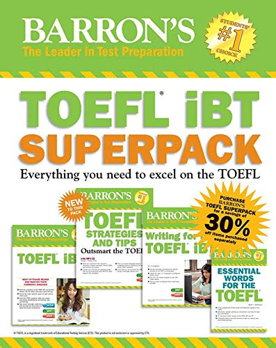 How to find the best barrons toefl ibt 15th edition for 2019?