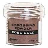 Arts & Crafts : Ranger Rose Gold Metallic Embossing Powder