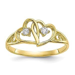 Diamond2deal - Anillo de Compromiso para Mujer, Oro