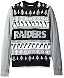FOCO Oakland Raiders One Too Many Ugly Sweater Extra Large