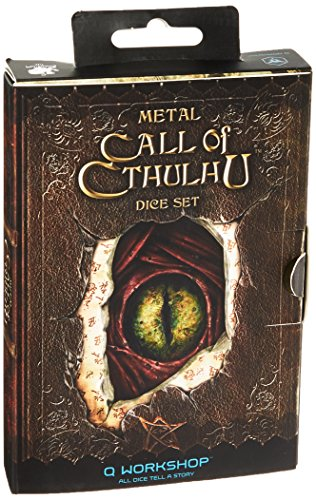 Call of Cthulhu Metal Dice Set ()