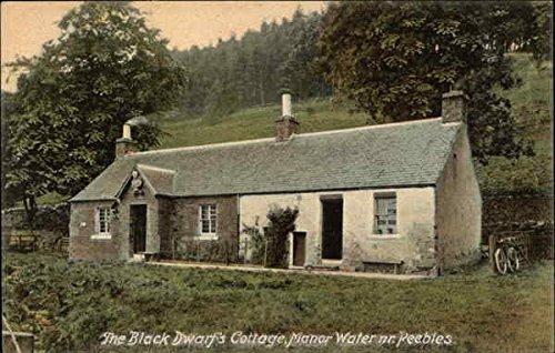 The Black Dwarf's Cottage, Manor Water Peebles, Scotland Original Vintage (Dwarfs Cottage)