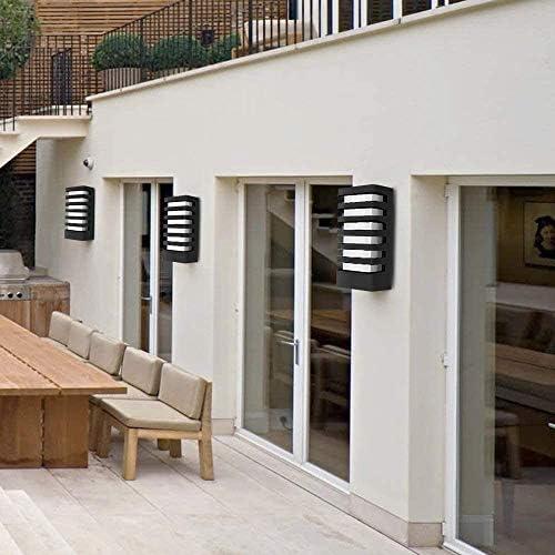 Außenwandleuchte, Wasserdicht LED-Wand-Licht Leuchte, Flur, Wohnzimmer, Hof, Treppenhaus Weißes Licht/Warme Licht Porch Leuchten Moderne Wandleuchten (Color : Weißes Licht)