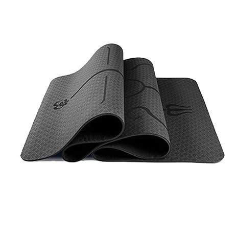 Amazon.com : BoZhiTongTai Yoga Mat Premium 6mm Non Slip ...