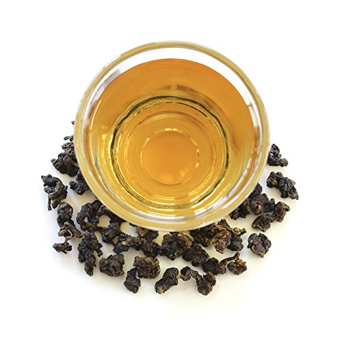Natural Taiwan High Mountain Sapphire GABA Loose Leaf Oolong Tea, 50g/1.76 oz by TEAMALCHI (Image #1)