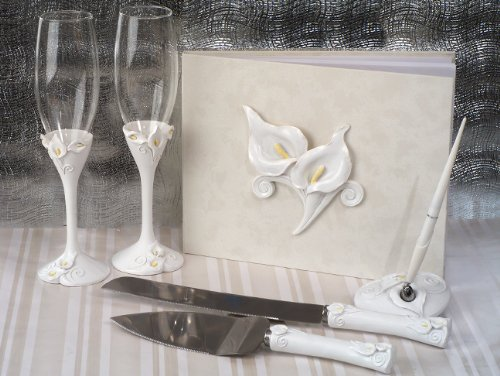 Classic Calla Lily Set Wedding Set (Calla Lily Wedding Cake)