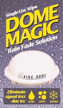 King 1830-SP RV Trailer Camper Electronics Dome Magic Rain Fade Solution Wipe