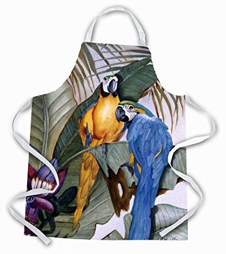 - Caroline's Treasures JMK1195APRON Parrots Apron, Large, Multicolor