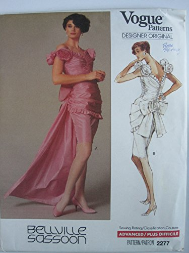 vogue-pattern-2277-bellville-sassoon-designer-misses-dress-size-10
