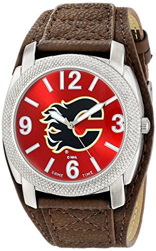 "Game Time Men's NHL-DEF-CAL ""Defender"" Watch - Calgary Flames"