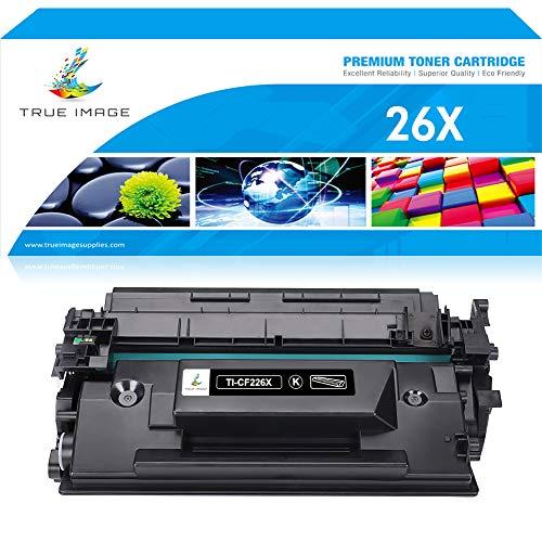 True Image High Yield Compatible Toner Cartridge Replacement for HP 26X 26A CF226X CF226A M402 M402n M426dw Toner for HP Laserjet Pro M402n M402dn M426fdn MFP M426fdw Toner M402dw M402D M426dw Ink ()