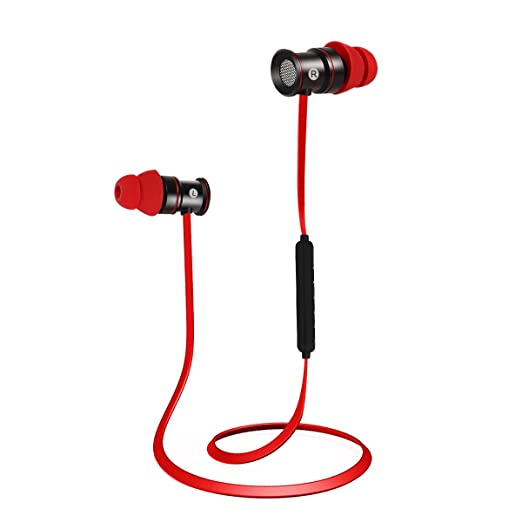 155 opinioni per EC Technology Auricolari Bluetooth 4.1 per sport, con Microfono, e magneti