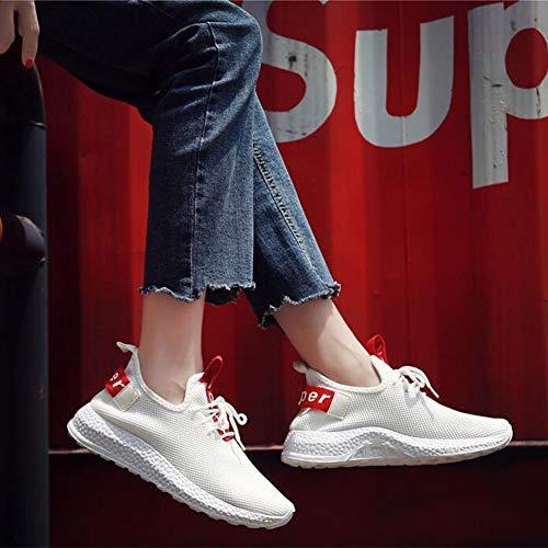 bianco taglia 5 per Scarpe FF bianche colore sportive uk6 piccola cn40 Eu39 donna qgx80nag