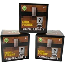 Minecraft Unlimited Mini Figure Chest Series 1 (3 Blind Boxes)