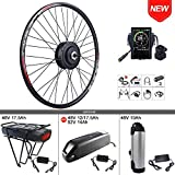BAFANG 48V 500W Front Hub Motor Electric Bike Conversion Kit for 700C Wheel