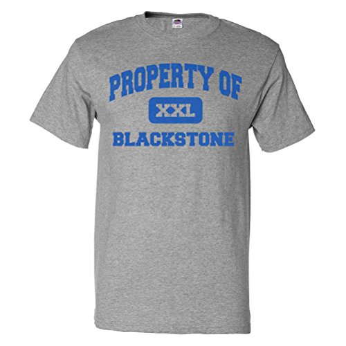 Shirtscope Property Of Blackstone Il T Shirt Funny Tee Small
