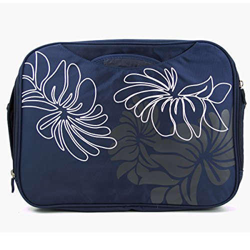 NuVur Shoulder Strap Messenger Bag with Hidden Handles for Lenovo LaVie Z 13.3-Inch Series | Blue