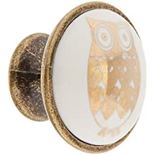 Abbott Collection Home Small Owl Knob