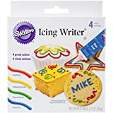 Icing Writer Tubes, Ready-to-Use, 19 g (0.68 oz), Set of 4