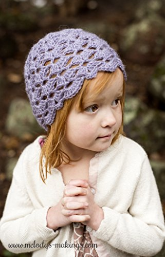 Antique Pearl Hat Crochet Pattern - All Baby, Toddler, Child, and Adult Sizes Included