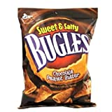 BUGLES CHOCOLATE PEANUT BUTTER 3.25 oz Each ( 7 in a Pack ) For Sale