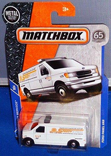 MATCHBOX MBX SERVICES WHITE FORD PANEL VAN