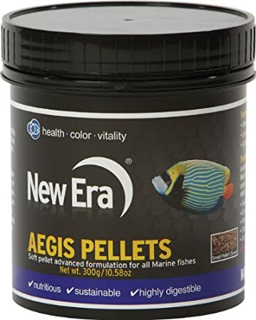 Buy New Era Aquaculture Marine Aegis Pellets For Fishes 120gm Online At Low Prices In India Amazon In
