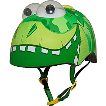 317f110a096 Raskullz Googly Eye Dino Toddler 3+ Multisport Helmet: Amazon.co.uk: Sports  & Outdoors