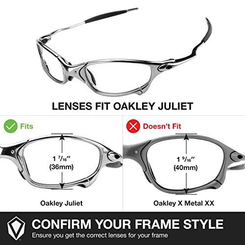 Revant Replacement Lenses For Oakley Juliet Titanium