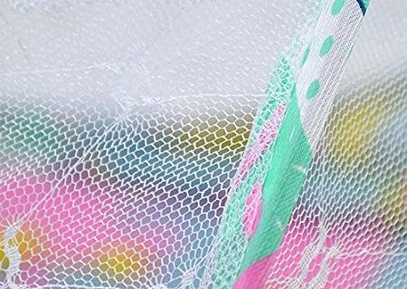 LAAT M/ückennetz f/ür KinderwagenPortable Krippen Moskitonetz Baby Reisebett Insektenschutz Portable Baby Faltbares Infant Beach Zelt mit kleinen Matratze