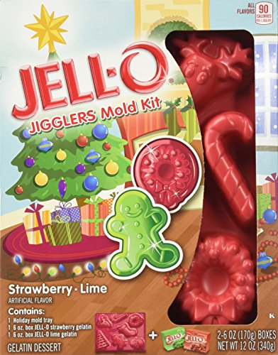 JELL O Jigglers Holiday Strawberry Ounce product image