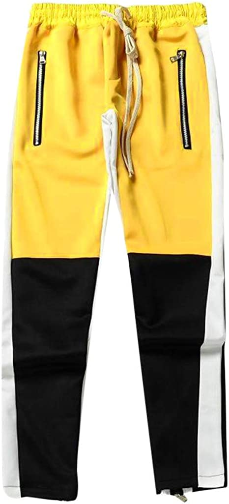 DUJIE Pantalon Deporte Hombre Pantalones Harem Cinturón de algodón ...