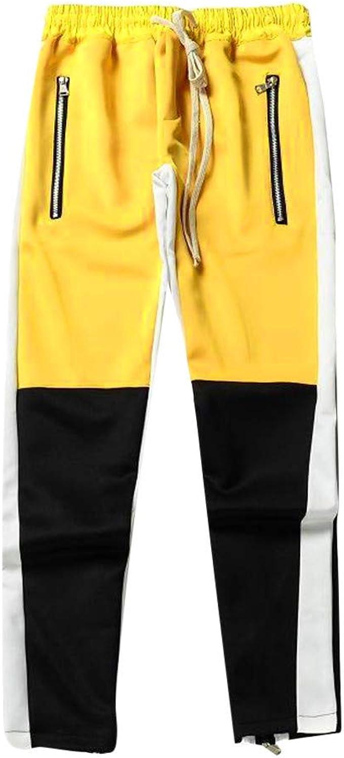 DUJIE Pantalon Deporte Hombre Pantalones Harem Cinturón de ...