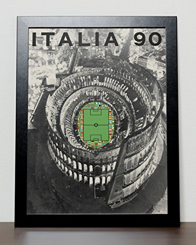 Italy 1990 - Italia 90 World Cup Poster (A3) - 29.7cm x (Italy 1990 World Cup)