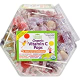 Yummy Earth Organic Vitamin C Pops Counter Bin - 150 Pops