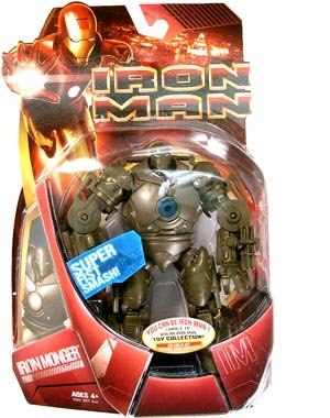 (Iron Man: Iron Monger I Action Figure (Blue Light))
