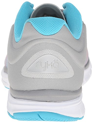 Chrome Detox Silver Shoe Athena Mist Grey PNK Blk Dynamic Blue Women's 2 Cross Cool Ryka Trainer Gr Pink q1xTa7gw