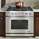 Dacor Renaissance 36 Stainless Steel Freestanding Gas Range