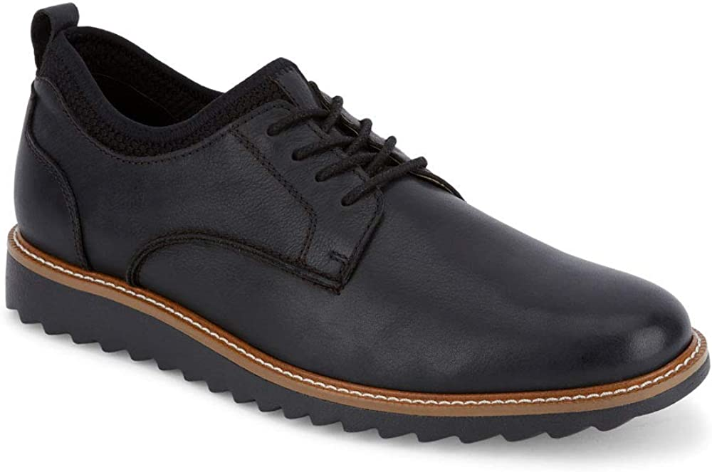 Dockers Mens Elon Leather Smart Series Dress Casual Oxford Shoe