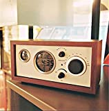 Best Home-X Alarm Clocks - Luminous creative classical wooden antique radio retro table Review