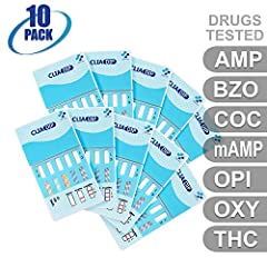 MiCare [10pk] - 7-Panel Multi Drug Test Card (AMP/BZO/COC/mAMP/OPI/OXY/THC) #MI-WDOA-274Overview:MiCare 7-Panel Multi Drug Test Card provides quick and accurate Point of Care Testing (POCT) results for multiple drugs and substances. Its ease ...
