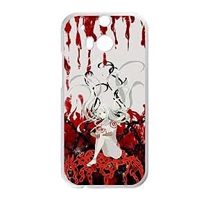 Deadman Wonderland HTC One M8 Cell Phone Case White TPU Phone Case SY_819534