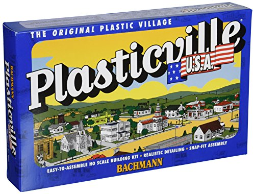 Platform Station Plasticville Building Kit HO Scale