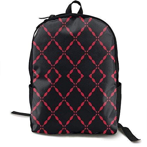 DKFDS Backpacks Black Bowling Pins ()