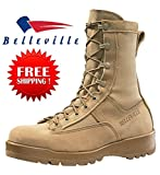 New Made in US 790 G Belleville GI Desert Tan Military Army Combat Waterproof Goretex Temperate Flight Boots (11 Wide)