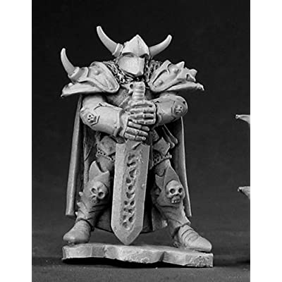 Reaper Miniatures 03414: Harstov, Irongrave Knight Lord - Dark Heaven Legends Metal Miniature: Toys & Games