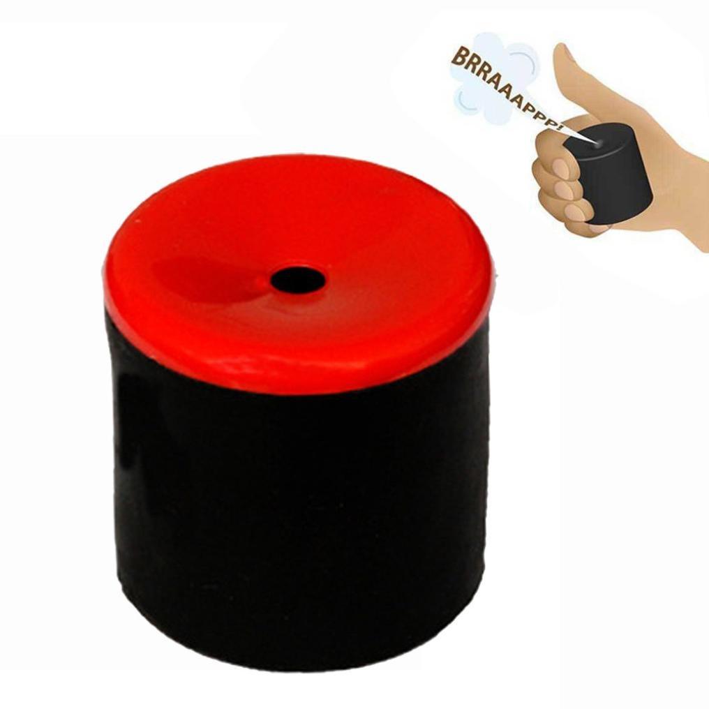 Furz Sounds Spielzeug, Gusspower Original Realistische Farting Erstellen Pooter Gag Witz Maschine Handheld Party, Furzkissen Klassische Streich (Rot)